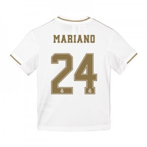 Real Madrid Home Shirt 2019-20 - Kids with Mariano 24 printing