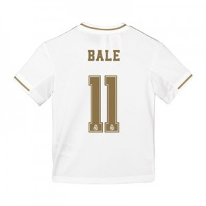 Real Madrid Home Shirt 2019-20 - Kids with Bale 11 printing
