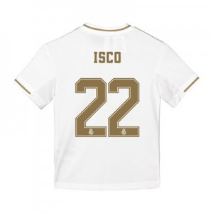 Real Madrid Home Shirt 2019-20 - Kids with Isco 22 printing