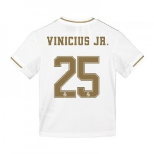 Real Madrid Home Shirt 2019-20 - Kids with Vinicius JR. 25 printing