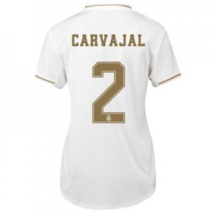 Real Madrid Home Shirt 2019-20 - Womens with Carvajal 2 printing