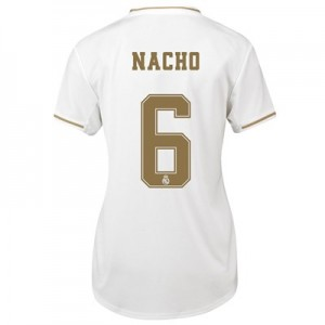 Real Madrid Home Shirt 2019-20 - Womens with Nacho 6 printing