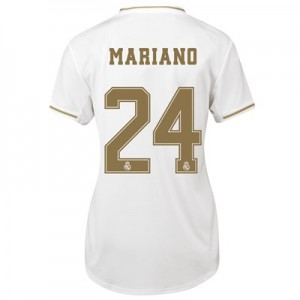Real Madrid Home Shirt 2019-20 - Womens with Mariano 24 printing