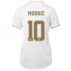 Real Madrid Home Shirt 2019-20 - Womens with Modric 10 printing