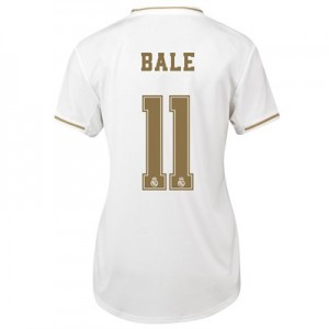 Real Madrid Home Shirt 2019-20 - Womens with Bale 11 printing
