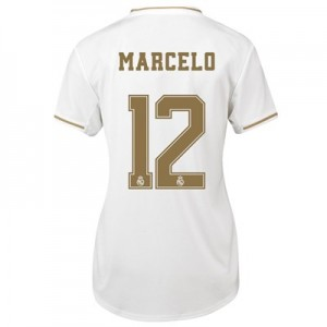 Real Madrid Home Shirt 2019-20 - Womens with Marcelo 12 printing