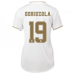 Real Madrid Home Shirt 2019-20 - Womens with Odriozola 19 printing