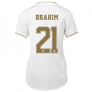 Real Madrid Home Shirt 2019-20 - Womens with Brahim 21 printing
