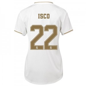 Real Madrid Home Shirt 2019-20 - Womens with Isco 22 printing