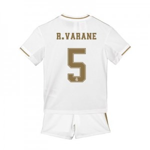 Real Madrid Home Mini Kit 2019 - 20 with R. Varane 5 printing