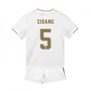 Real Madrid Home Mini Kit 2019 - 20 with Zidane 5 printing
