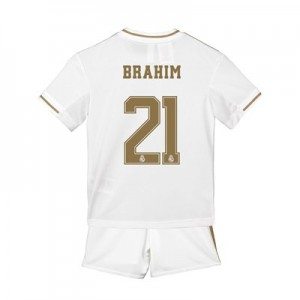 Real Madrid Home Mini Kit 2019 - 20 with Brahim 21 printing
