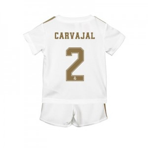 Real Madrid Home Baby Kit 2019 - 20 with Carvajal 2 printing