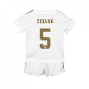 Real Madrid Home Baby Kit 2019 - 20 with Zidane 5 printing