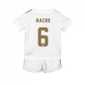 Real Madrid Home Baby Kit 2019 - 20 with Nacho 6 printing