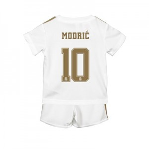 Real Madrid Home Baby Kit 2019 - 20 with Modric 10 printing