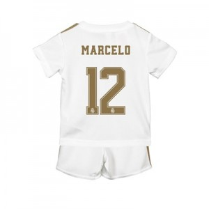 Real Madrid Home Baby Kit 2019 - 20 with Marcelo 12 printing