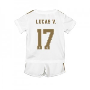 Real Madrid Home Baby Kit 2019 - 20 with Lucas V. 17 printing