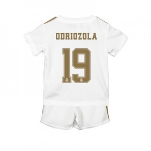 Real Madrid Home Baby Kit 2019 - 20 with Odriozola 19 printing
