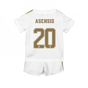 Real Madrid Home Baby Kit 2019 - 20 with Asensio 20 printing