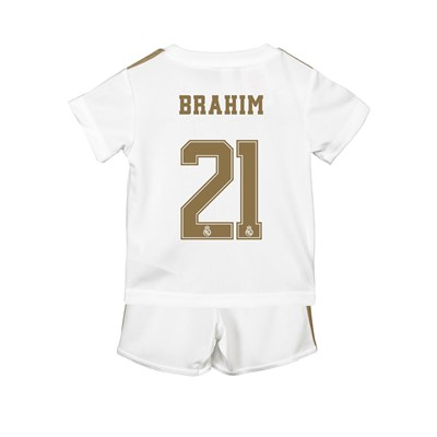 Real Madrid Home Baby Kit 2019 - 20 with Brahim 21 printing
