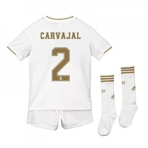 Real Madrid Real Madrid Home Kit 2019 - 20 - Kids with Carvajal 2 printing