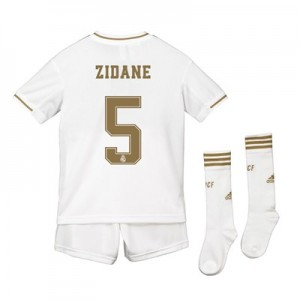 Real Madrid Real Madrid Home Kit 2019 - 20 - Kids with Zidane 5 printing