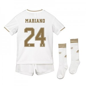 Real Madrid Real Madrid Home Kit 2019 - 20 - Kids with Mariano 24 printing