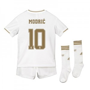 Real Madrid Real Madrid Home Kit 2019 - 20 - Kids with Modric 10 printing