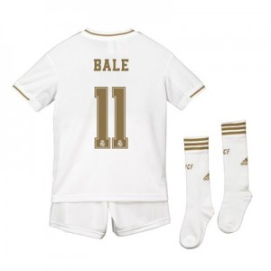 Real Madrid Real Madrid Home Kit 2019 - 20 - Kids with Bale 11 printing