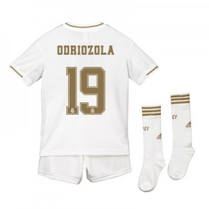 Real Madrid Real Madrid Home Kit 2019 - 20 - Kids with Odriozola 19 printing