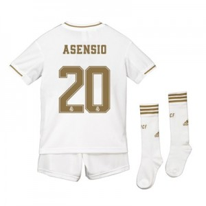 Real Madrid Real Madrid Home Kit 2019 - 20 - Kids with Asensio 20 printing