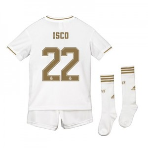 Real Madrid Real Madrid Home Kit 2019 - 20 - Kids with Isco 22 printing