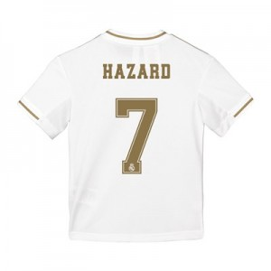 Real Madrid Home Shirt 2019-20 - Kids with Hazard 7 printing
