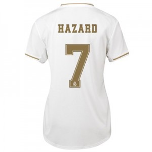 Real Madrid Home Shirt 2019-20 - Womens with Hazard 7 printing