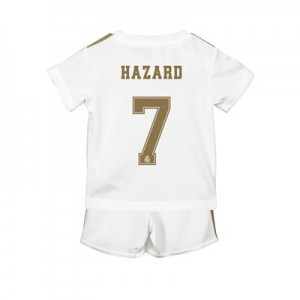 Real Madrid Home Baby Kit 2019 - 20 with Hazard 7 printing