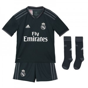 Real Madrid Away Kids Kit 2018-19