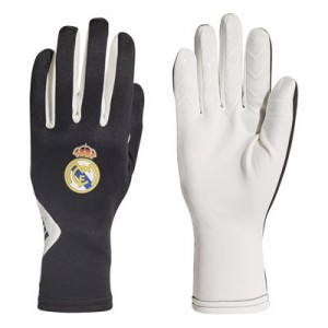 Real Madrid Field Player Gloves - White