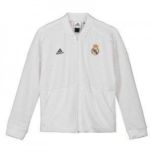 Real Madrid ZNE Home Anthem Jacket - White - Kids