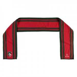 Leicester Tigers Scarf - Red/Green