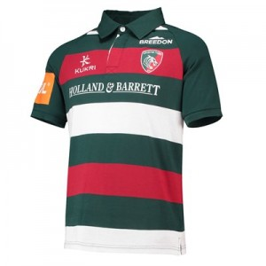 Leicester Tigers Home Classic Jersey Short Sleeve 2018/19 - Mens