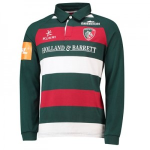 Leicester Tigers Home Classic Jersey Long Sleeve 2018/19 - Mens