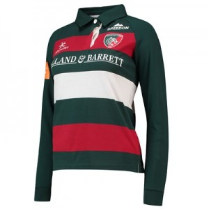 Leicester Tigers Home Classic Jersey Long Sleeve 2018/19 - Womens