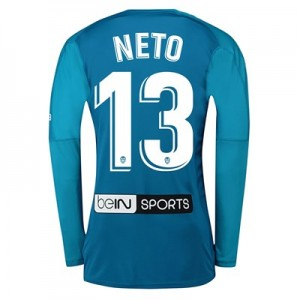 Valencia CF Goalkeeper Shirt 2018-19 with Neto 13 printing