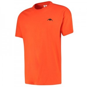 Valencia CF Embroidered Bat T-Shirt - Orange - Mens
