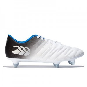 Canterbury Phoenix 2.0 Soft Ground Rugby Boot - Optic White - Junior