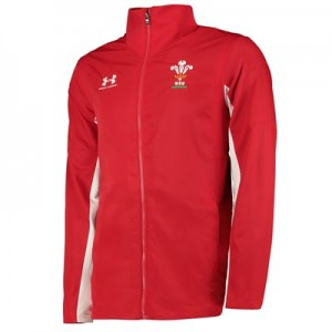 Welsh Rugby Presentation Jacket - Red
