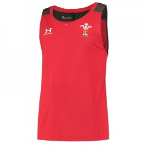 Welsh Rugby Training Tank - Red